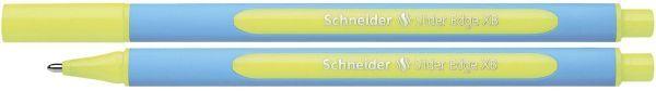 Schneider Kugelschreiber Slider Edge - Kappenmodell, XB, gelb
