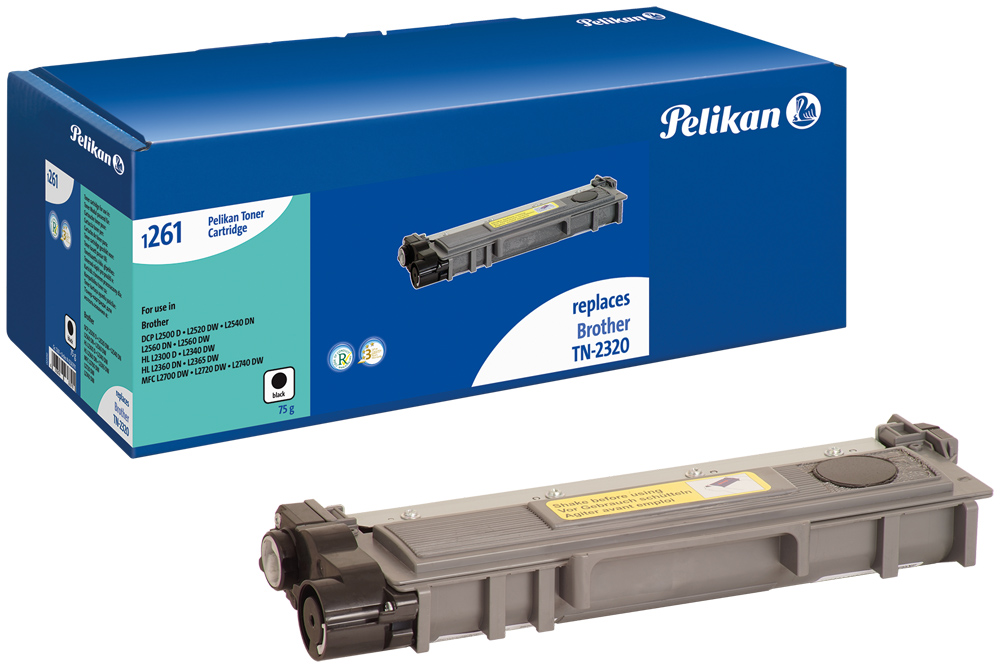 Pelikan Toner komp. zu TN-2320  Brother DCP-L2500 etc. black