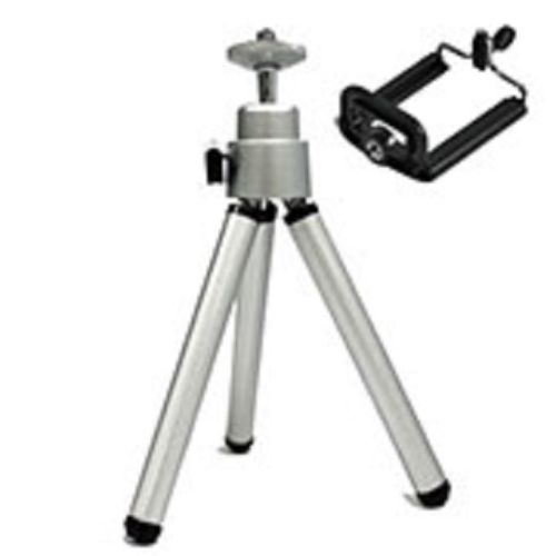 Mini-Stativ mit Kugelneiger für Handy Kamera inkl. Bluetooth Fernbedienung