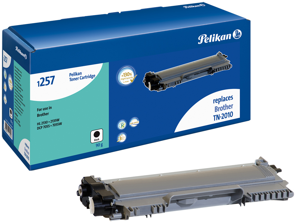 Pelikan Toner komp. zu TN-2010  Brother DCP-7055 etc. black