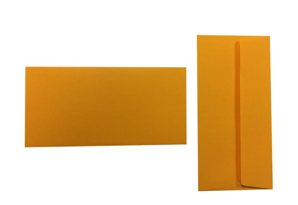 Pop'Set Umschläge DIN Lang sonnenblumengelb 120g/m² 100 Stück