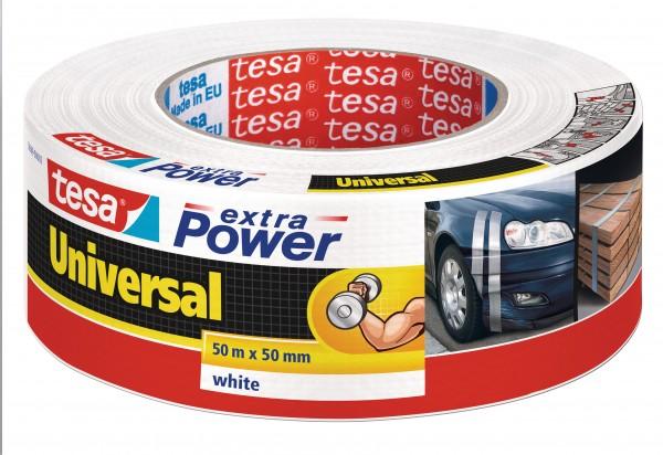 GP: 0,15 EUR/m tesa extra Power Universal weiß 50m x 50mm
