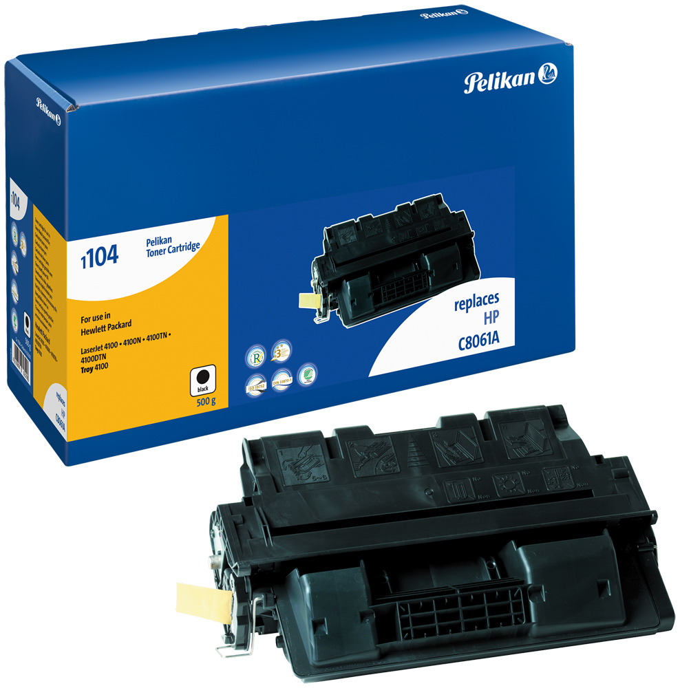 Pelikan Toner 1104 SR komp. zu C8061A HP LaserJet 4100 black