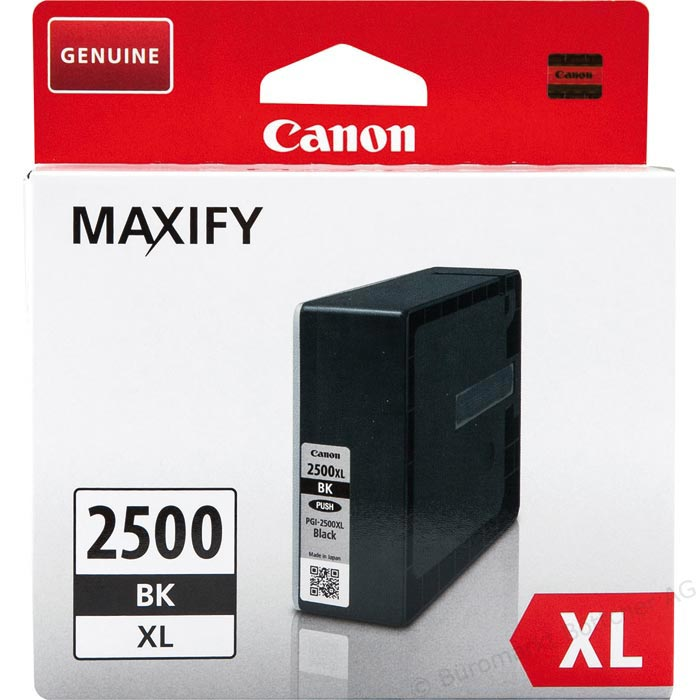 Original Canon Patrone PGI-2500XL BK MAXIFY MB5050 etc.black