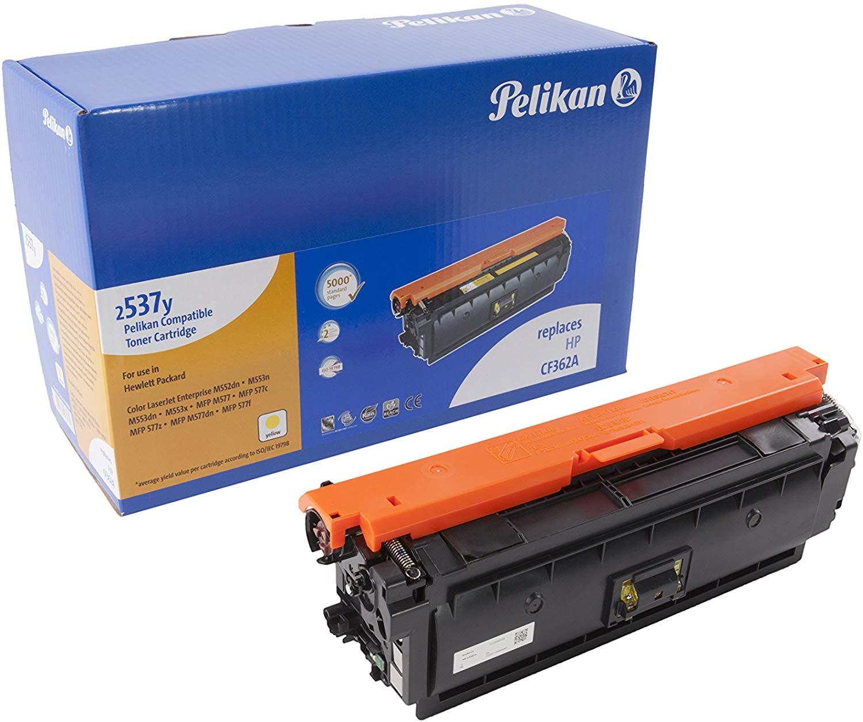 Pelikan Toner ersetzt HP CF362A, Yellow, 5000 Seiten
