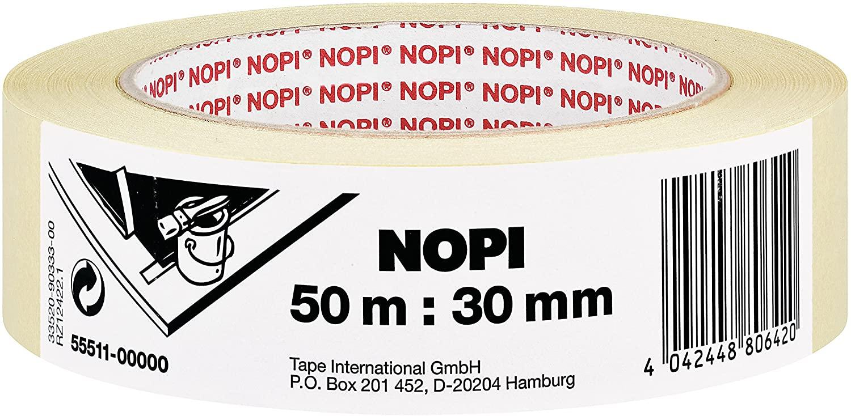 NOPI Maler-Krepp 50 m, 30 mm