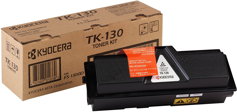 Vorschau: Original Kyocera Toner TK-130 für FS-1300D 1300DN schwarz
