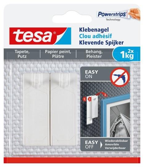 tesa Klebenagel Tapete & Putz, 2 x 1 kg