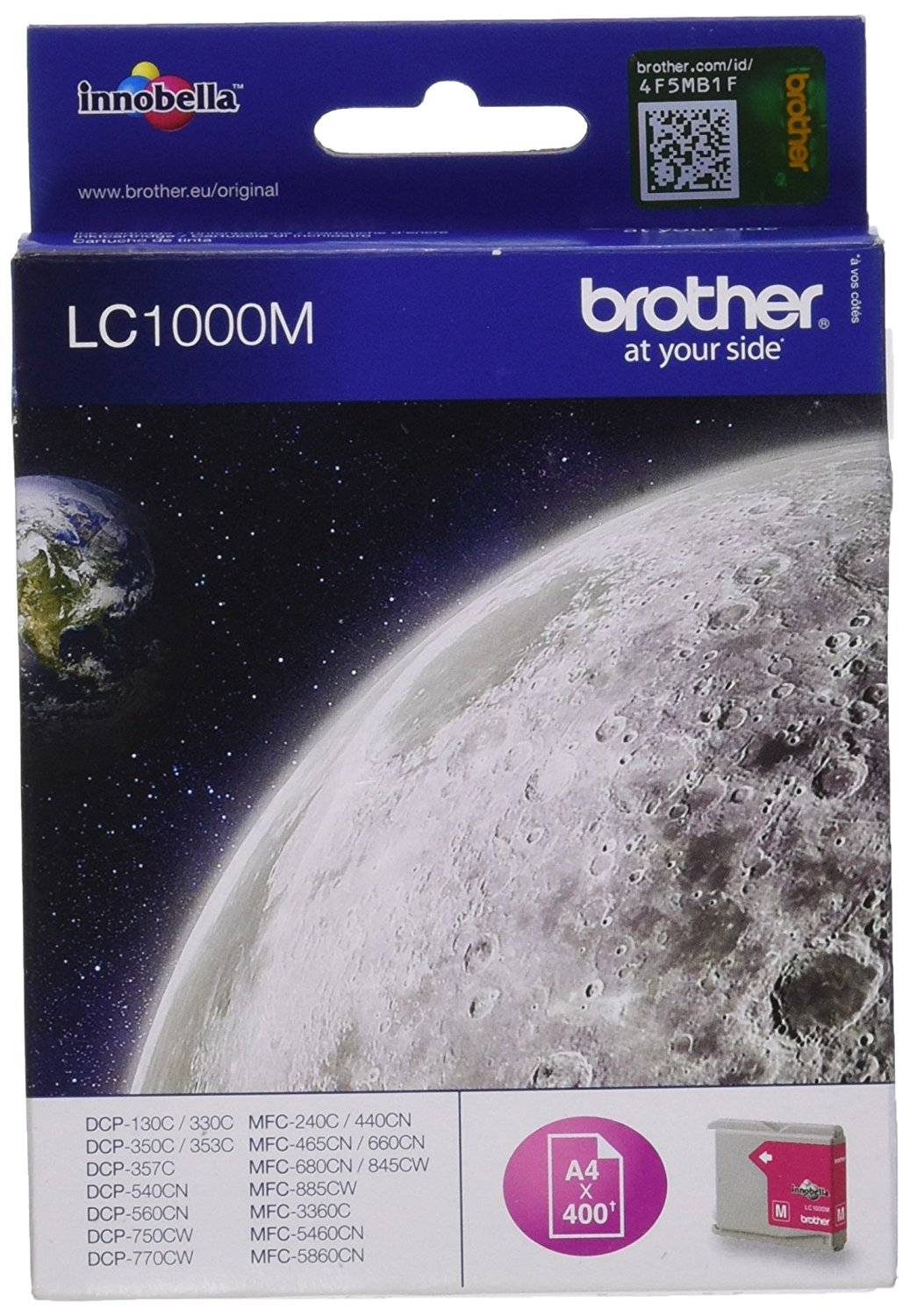 Vorschau: Original Brother LC1000M für Brother DCP-130 MFC-240C magenta