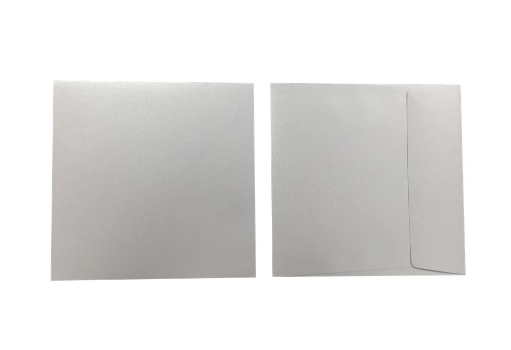 Inapa Shyne Umschläge Quadro Opal 120g/m² 100 Stück