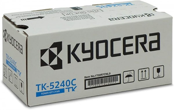 Kyocera TK-5240C Original Toner-Kartusche Cyan 1T02R7CNL0. Für ECOSYS M5526cdn, ECOSYS M5526cdw, ECO