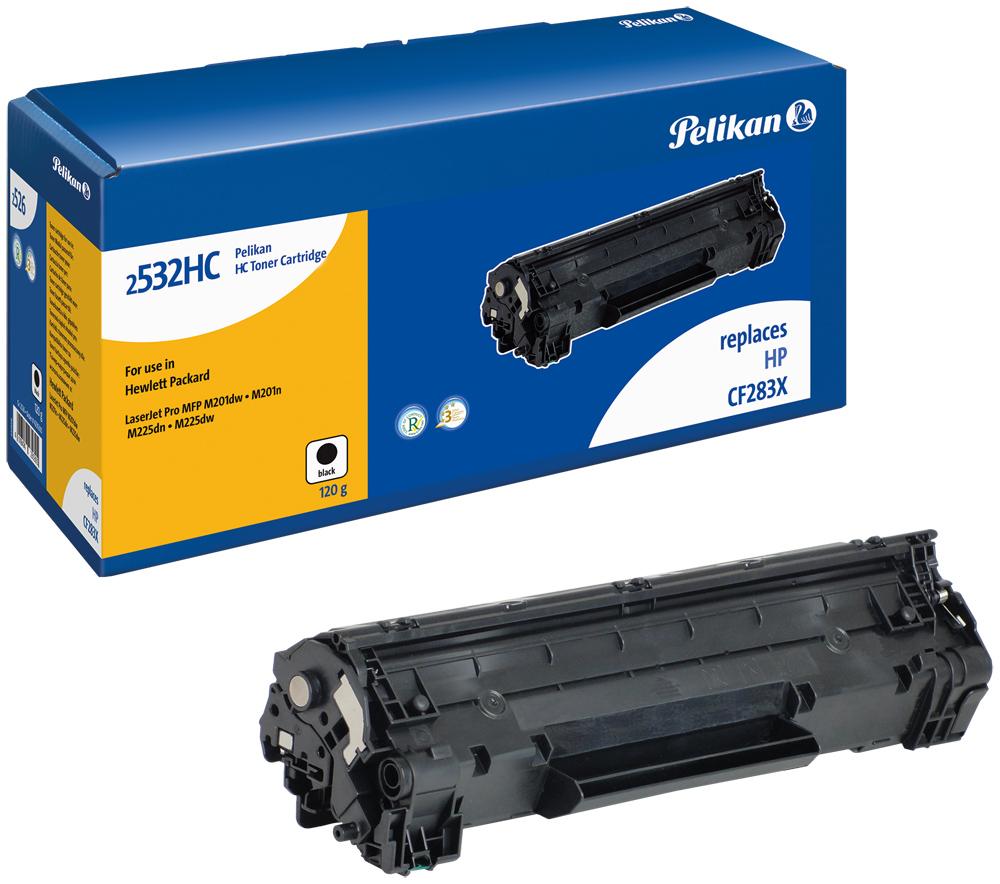 Pelikan Toner für HP 83X / CF283X LaserJet Pro MFP M225 dn etc. black