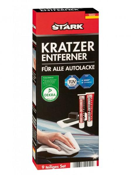 STARK 40040 Kratzer Entfernen 9-teiliges Set für alle Autolacke
