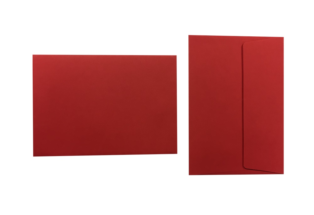 Pop'Set Umschläge C6 ziegelrot 120g/m² 100 Stück