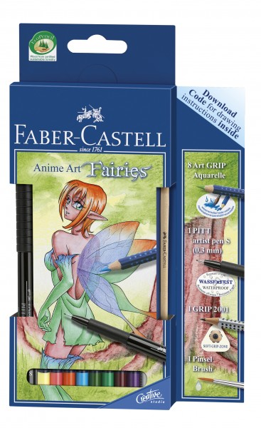 "Faber-Castell Anime Art Set ""Fairies"""