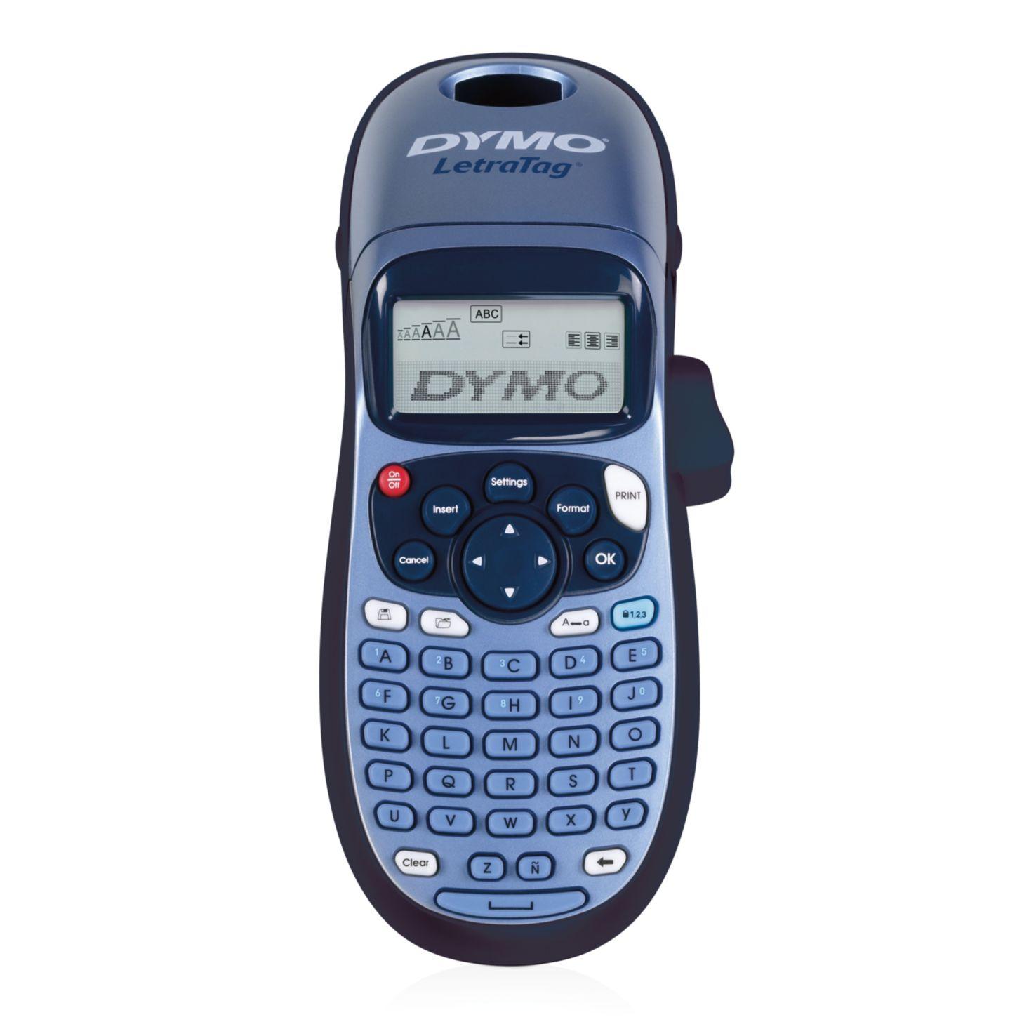 Dymo Letra Tag LT-100H Handgerät ABC-Tastatur