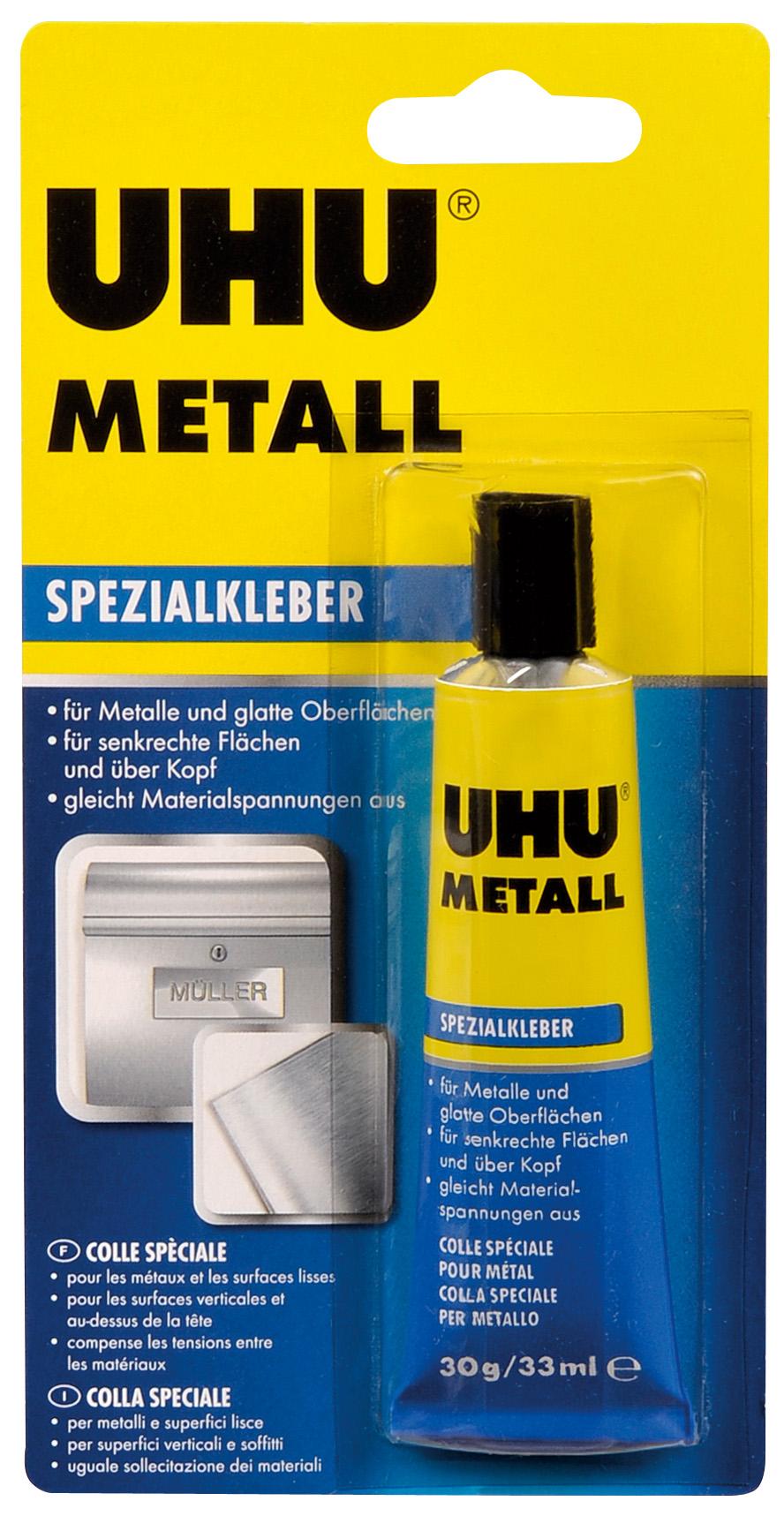 UHU Metall 30g Tube Infokarte