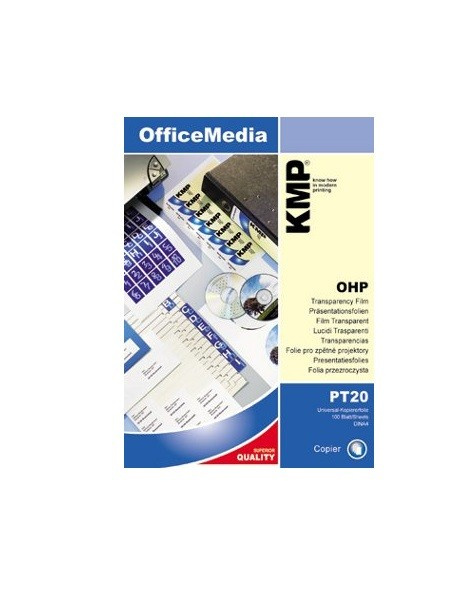 PT 20 Universal-Kopiererfolie Geeignet für alle gängigen Monochrom-Normalpapierkopierer