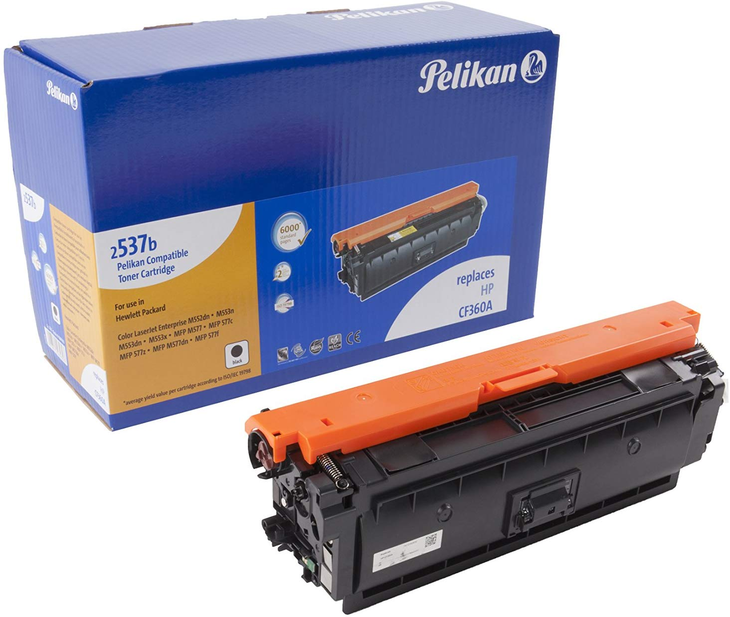 Pelikan Toner ersetzt HP CF360A, Black, 6000 Seiten