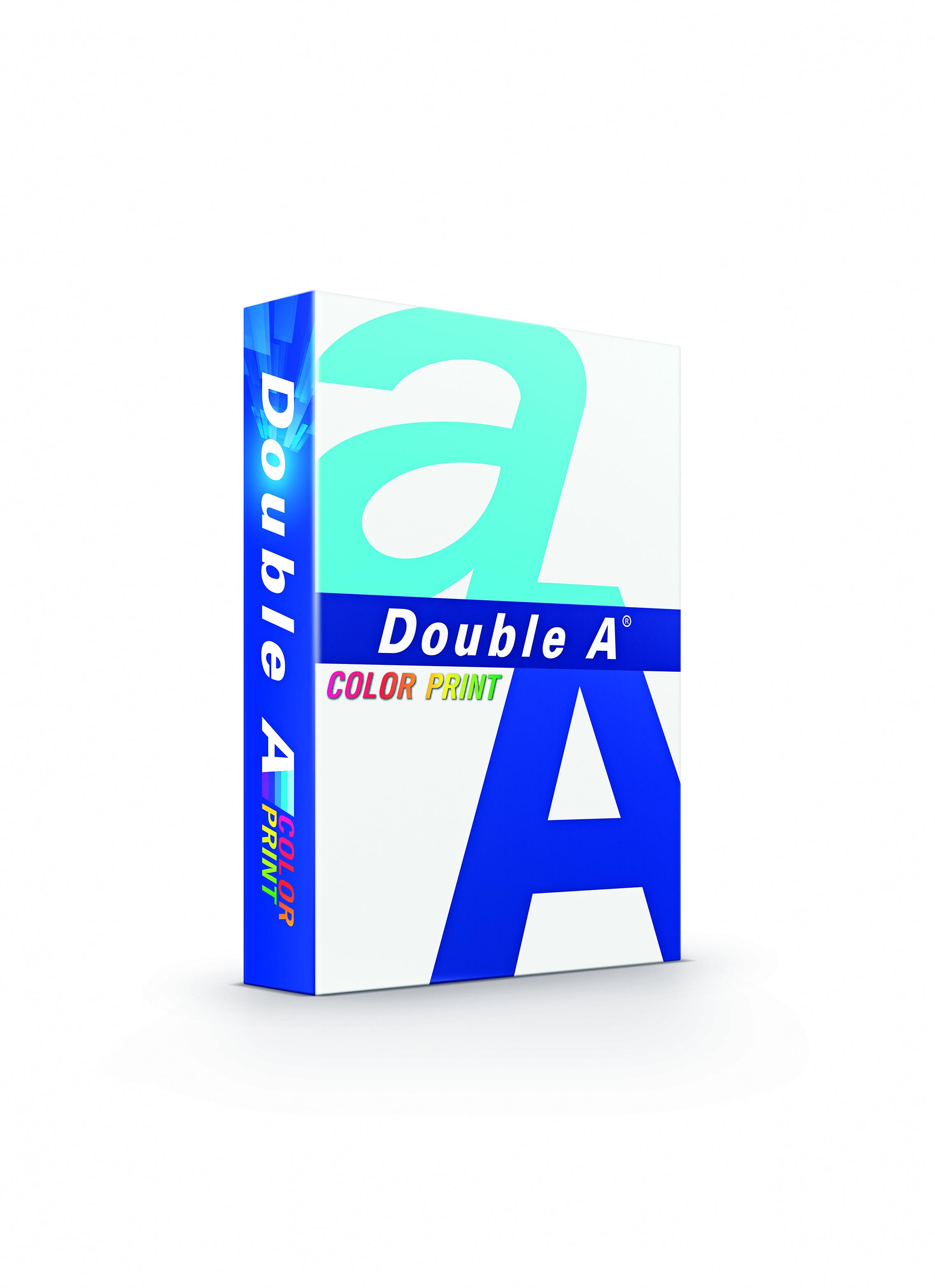 Double A Color Print Papier 90g/m² DIN-A4 weiß 500 Blatt