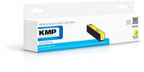 KMP Patrone H169YX für (L0R11A) HP 981X HP PageWide Enterprise Color 550 Series HP PageWide Enterpri