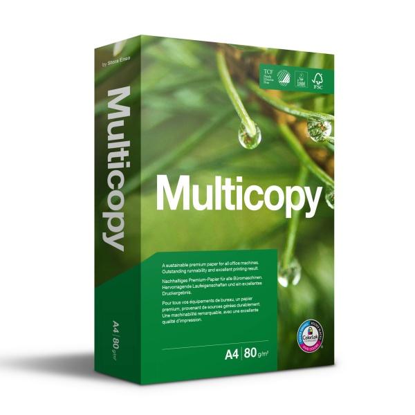 Multicopy Papier 80g/m² DIN-A4 - 500 Blatt