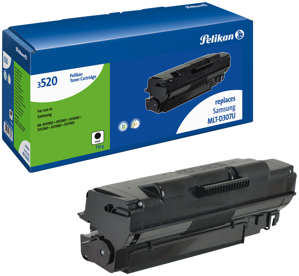 Pelikan Toner 3520HC  komp. zu MLT-D307U Samsung ML-4510 ND etc. black