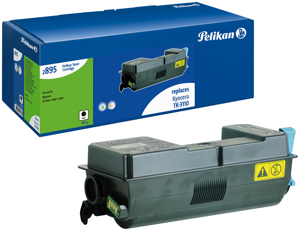 Pelikan Toner 2895 komp. zu TK-3110 Kyocera ECOSYS M3550 Idn black