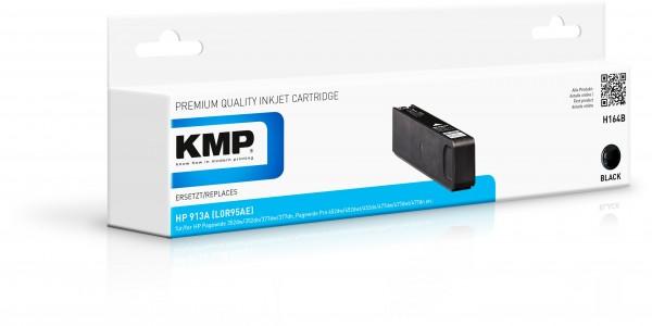 KMP Patrone H164B für (L0R95AE) HP 913A HP PageWide 352 dw HP PageWide MFP 377 dw etc. black