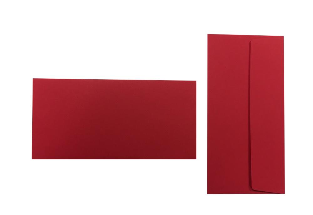 Pop'Set Umschläge DIN Lang rot 120g/m² 100 Stück