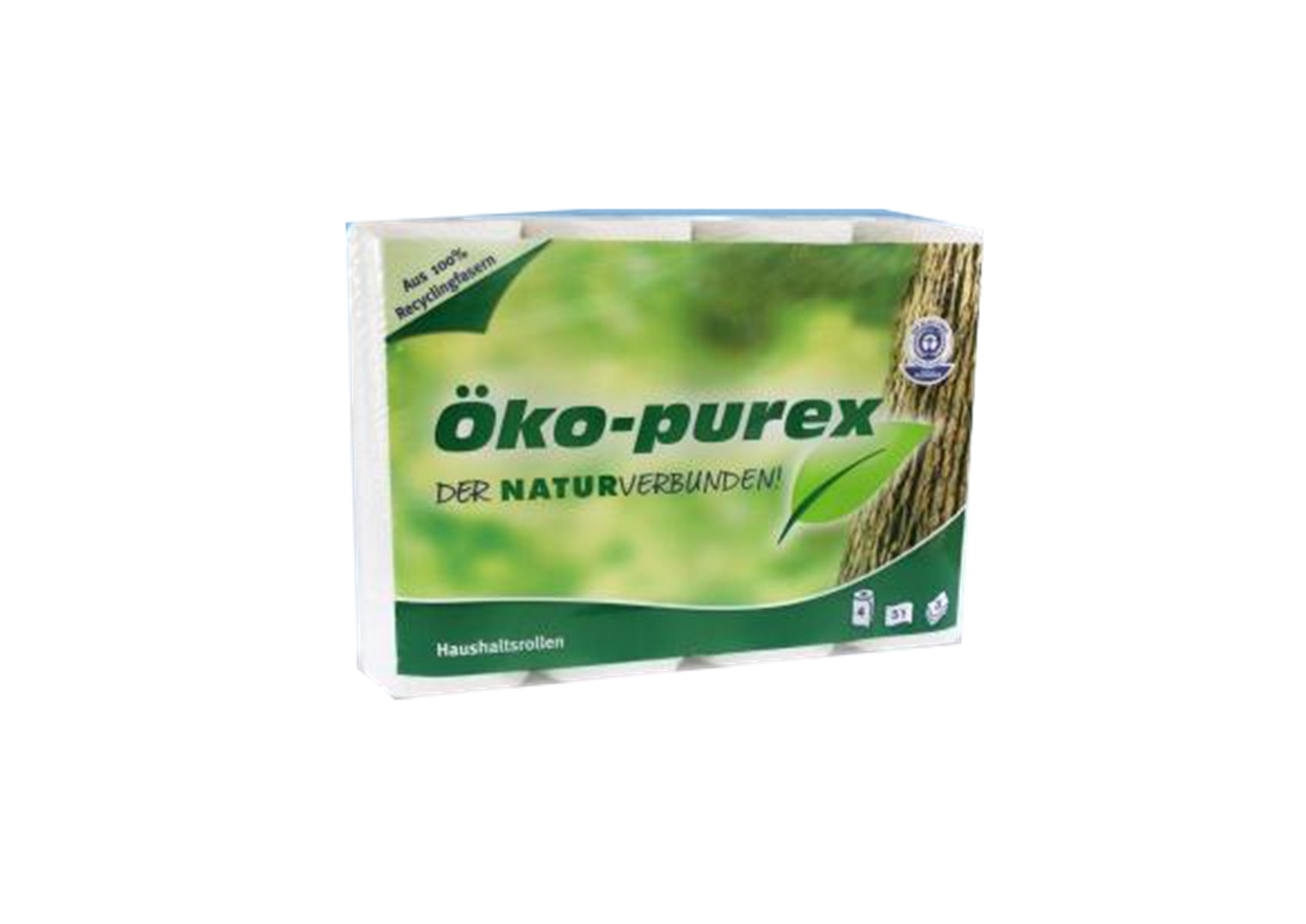 Haushaltsrollen Öko Purex 4 Rollen 51 Blatt / Rolle