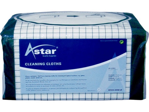 ASTAR cleaning wipes(25 Stk.) 32x34cm universal
