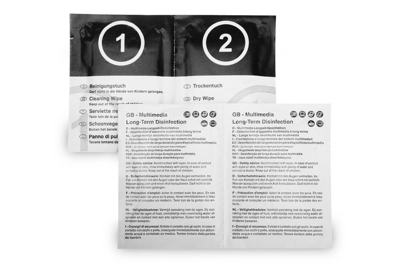 Langzeit-Desinfektionstücherset
