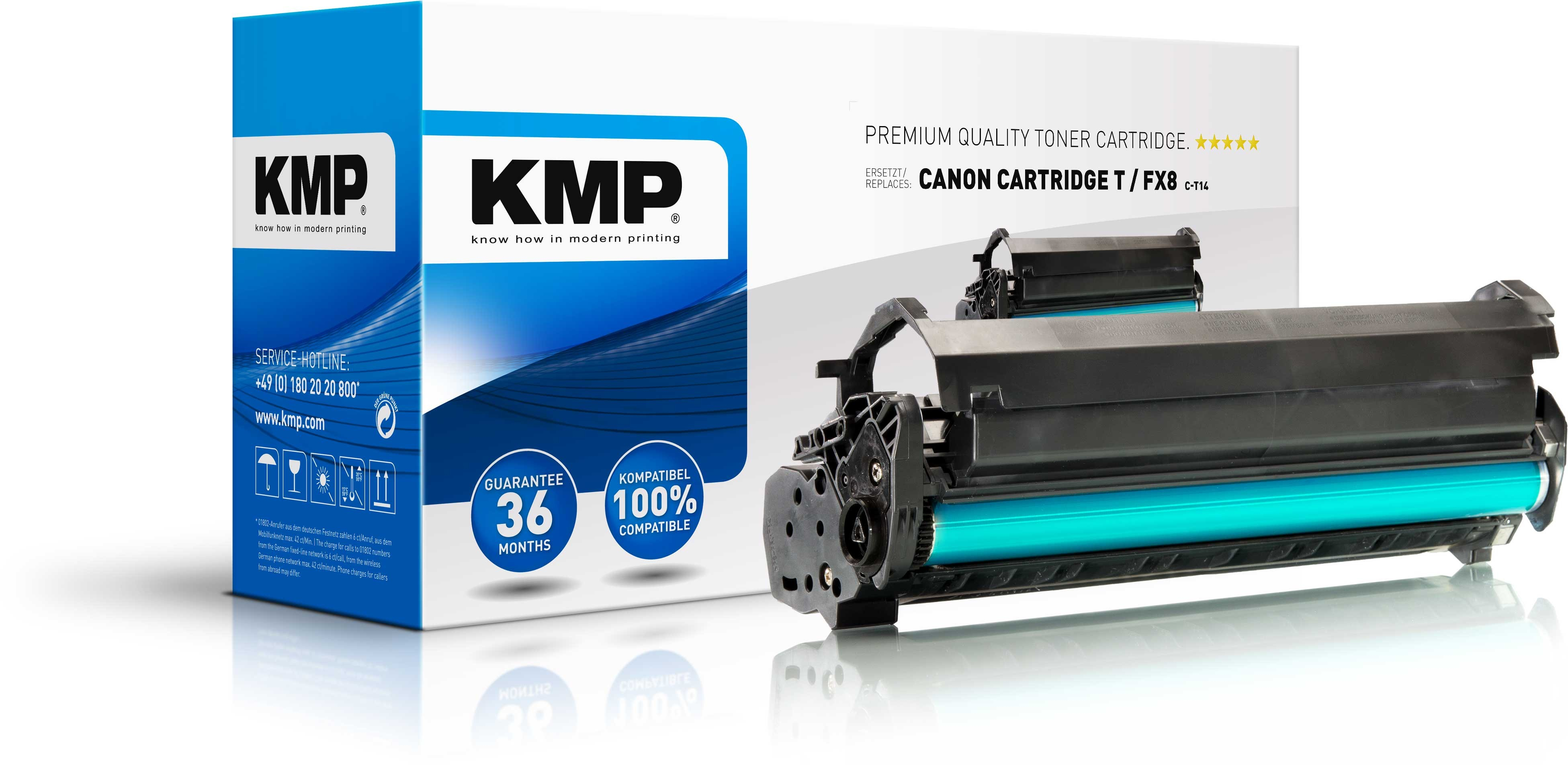 KMP Toner für Canon FX8 Fax L380 L400 PCD320 PCD340