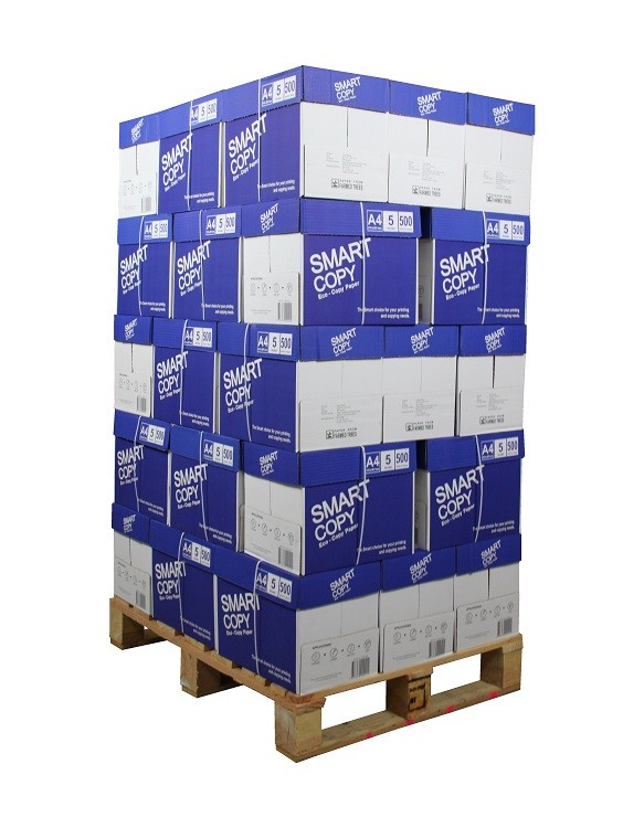 100.000 Blatt Smart Copy Eco 75g/m² DIN-A4 Premium Kopierpapier weiß