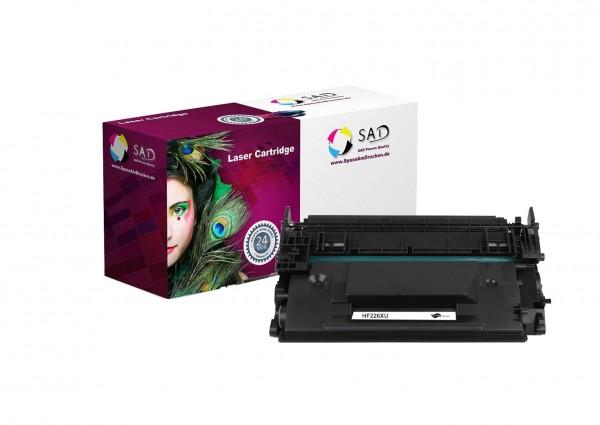 SAD Premium Toner komp. mit HP 26X / CF226X black ca. 9.000 Seiten hohe Kapazität