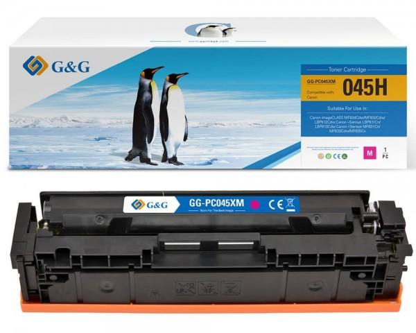 G&G Toner kompatibel zu Canon 045HM/ 1244C002 Magenta