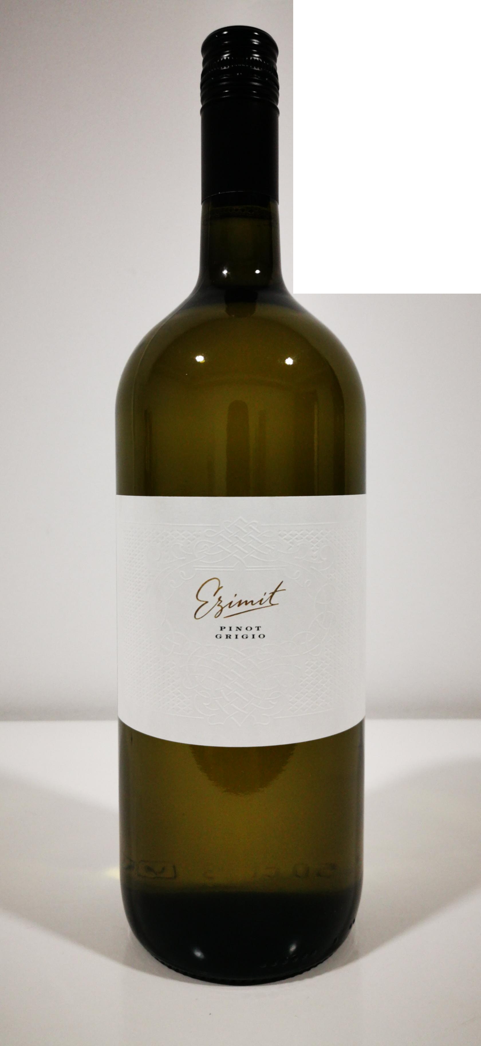 1,5L Pinot Grigio Ezimit DOOEL WGO trocken Nordmazedonien 2018 - 14,5%