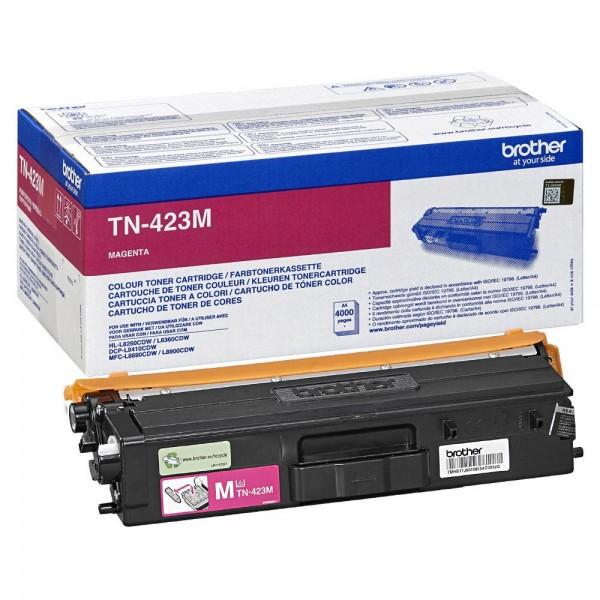 Original Brother Toner TN-423M magenta ca. 4.000 Seiten