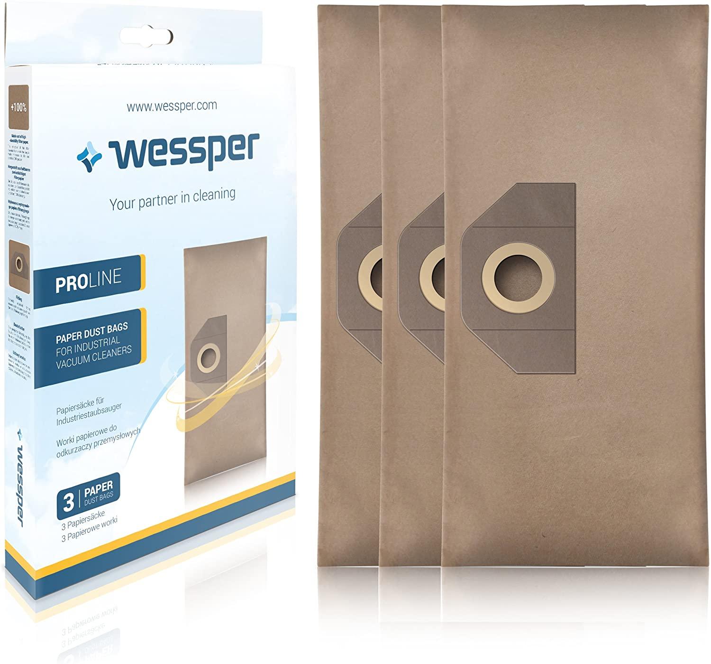 Wessper® Staubsaugerbeutel 6.959-130 für Kärcher SE4001 4002 WD3 A2201 A2204 A2251Me F1 A2604 A2654M