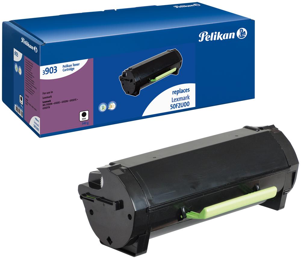 Pelikan Toner für Lexmark 50F2U00 MS410 d / MS410 dn etc. black