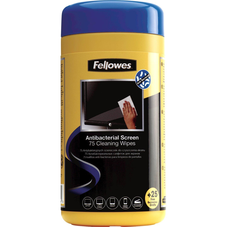 Vorschau: Fellowes Virashield Bildschirm Reinigungstücher feucht / trocken