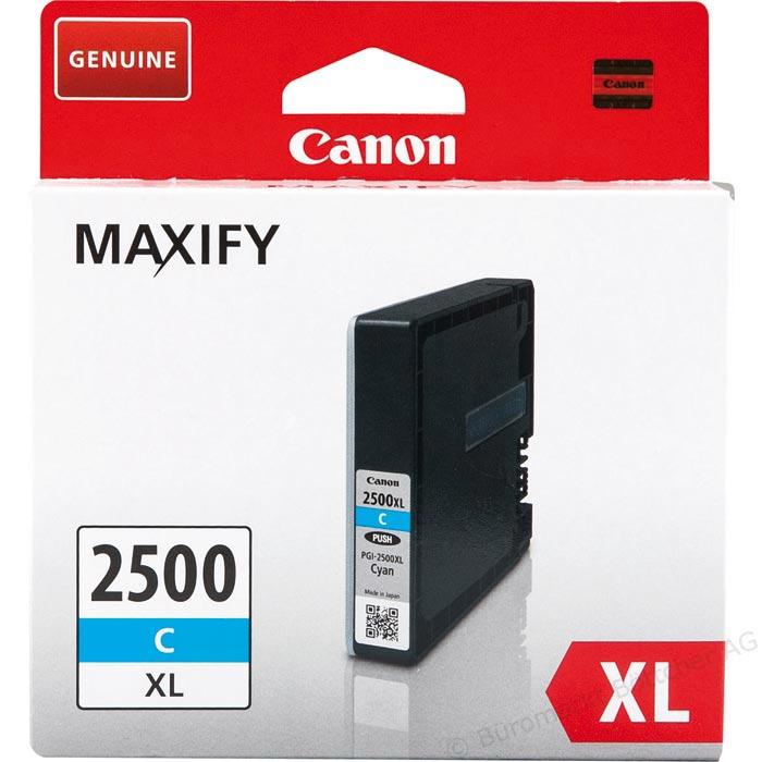 Original Canon Patrone PGI-2500XL C MAXIFY MB5050 etc.cyan