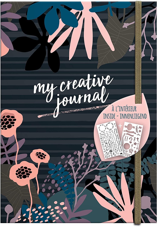 Clairefontaine 97404C Heft My Creative Journal DIN A5, 208 Seiten, Dot Lineatur, 90g/qm, 1 Stück, My