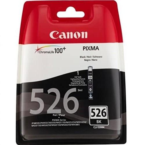 Canon Tintenpatrone CLI-526 BK Schwarz black - 9 ml für PIXMA Drucker ORIGINAL