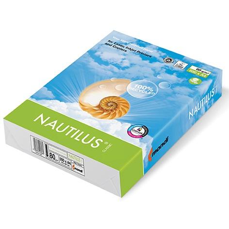 Vorschau: Mondi Nautilus Classic 80g/m² DIN-A4 / 500 Blatt Papier weiß