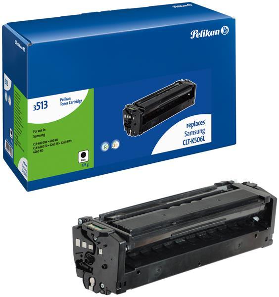 Pelikan Toner kompatibel mit Samsung CLT-K506L CLP-680 DW etc. black
