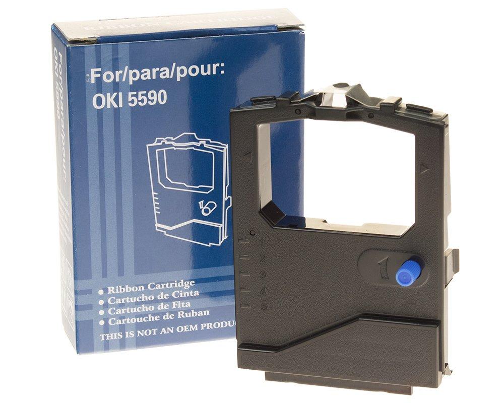 Farbband kompatibel zu OKI 01126301 - ML5520 black