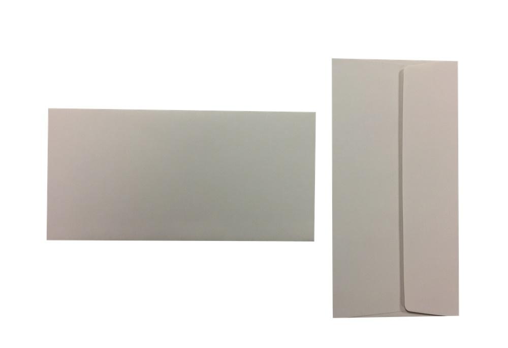 Pop'Set Umschläge DIN Lang perlgrau 120g/m² 100 Stück