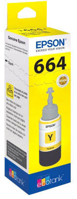 Original EPSON Tinte yellow 70.0ml EPSON Eco-Tank-Serie